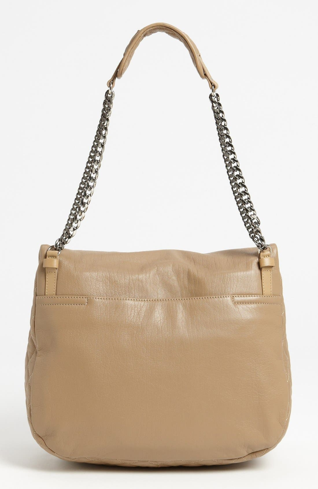 Alternate Image 4  - Jimmy Choo 'Becka Biker - Large' Leather Shoulder Bag