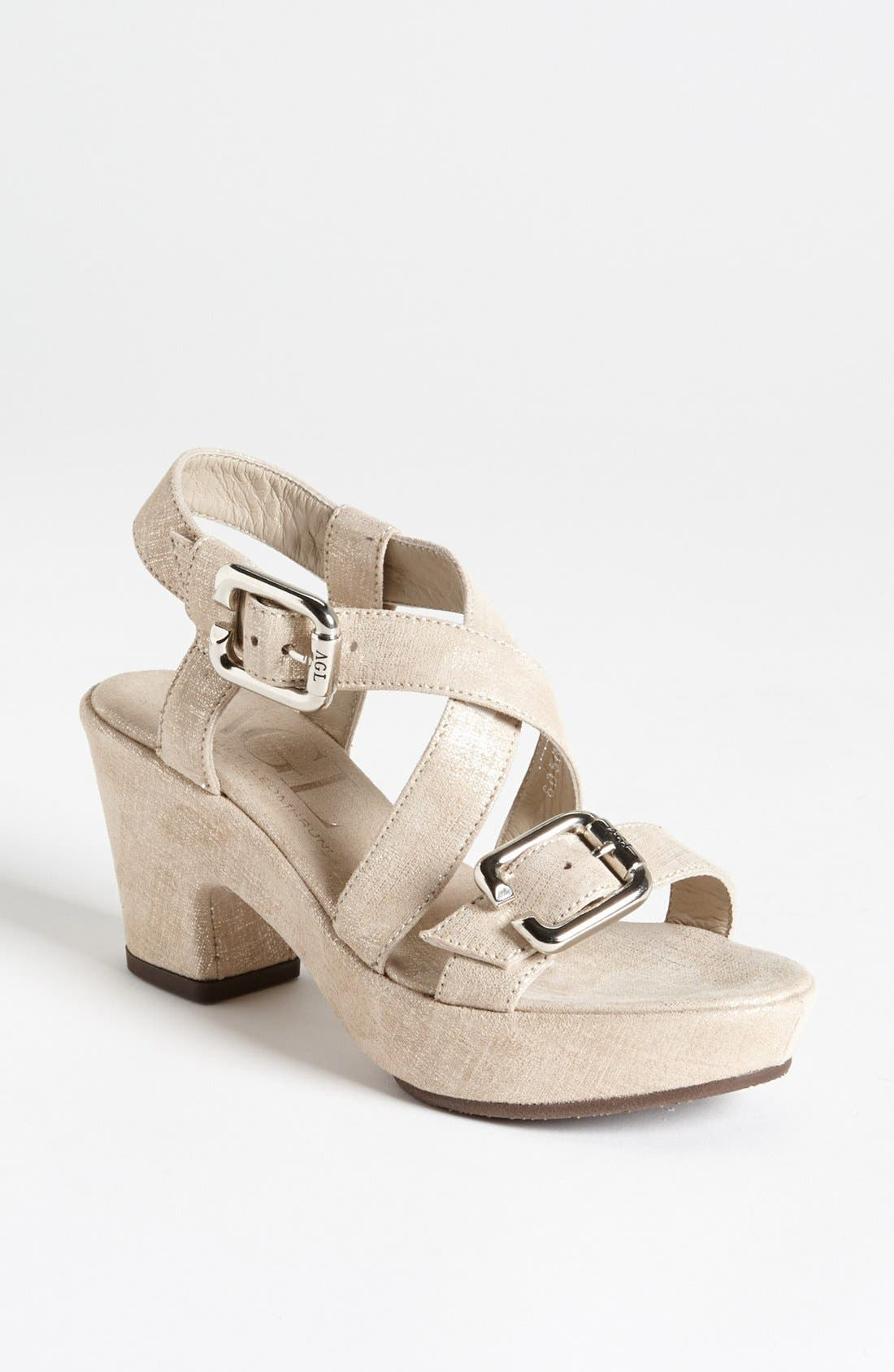 Alternate Image 1 Selected - Attilio Giusti Leombruni Buckle Sandal