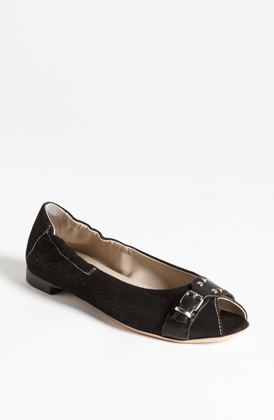 Alternate Image 1 Selected - Attilio Giusti Leombruni Peep Toe Flat