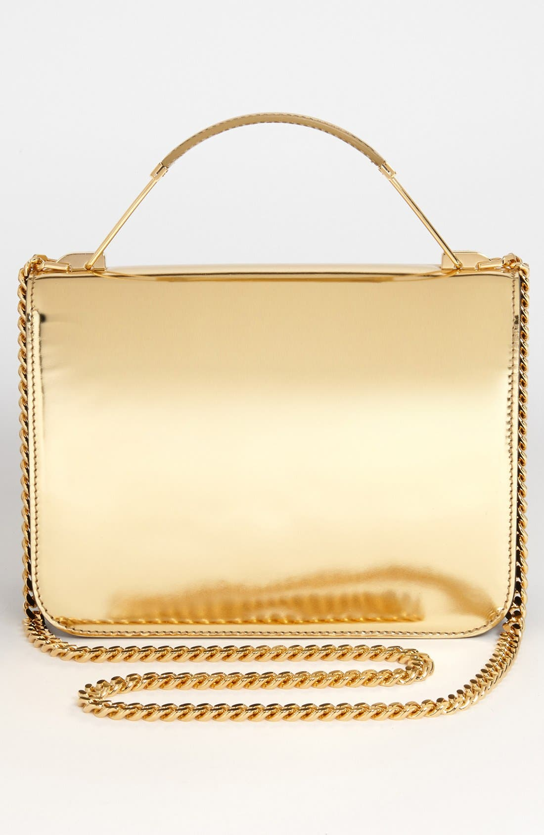 Alternate Image 4  - Emilio Pucci 'Newton Laminated - Small' Partitioned Leather Shoulder Bag