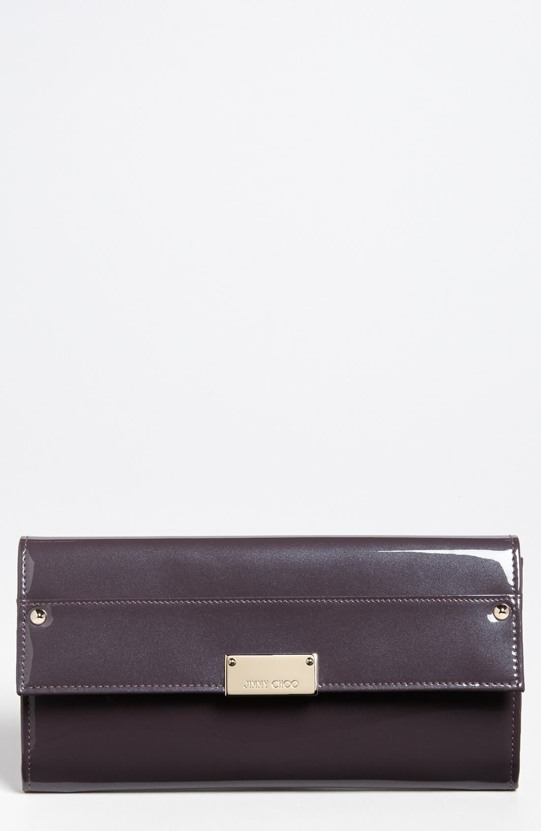 Alternate Image 1 Selected - Jimmy Choo 'Reese' Patent Leather Clutch