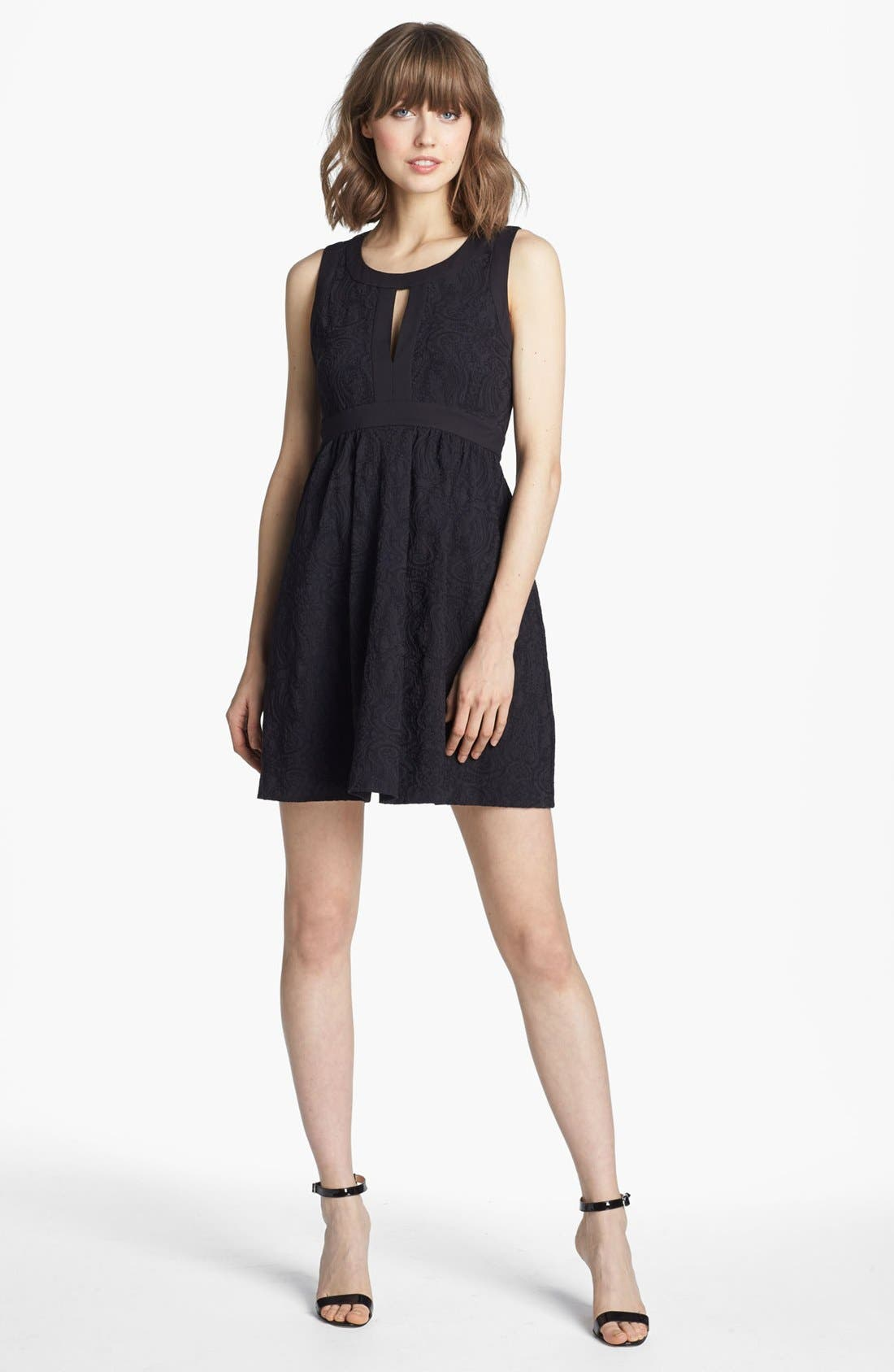 Main Image - Juicy Couture Cloqué Dress