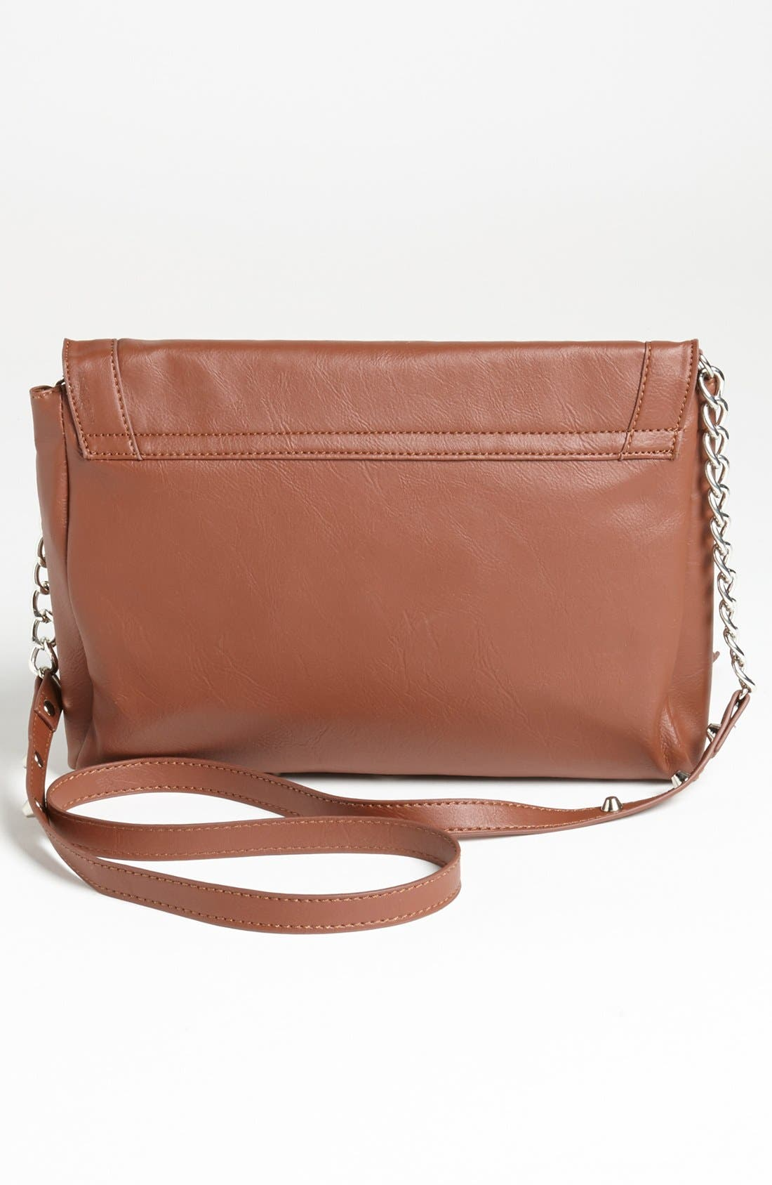 Alternate Image 4  - Cesca '15th Street' Faux Leather Crossbody Bag, Small (Juniors) (Online Only)