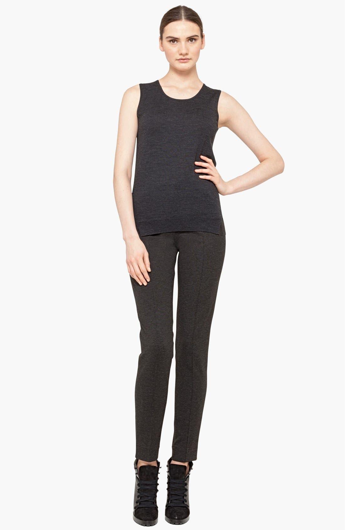 Alternate Image 3  - Akris punto Slim Jersey Pants