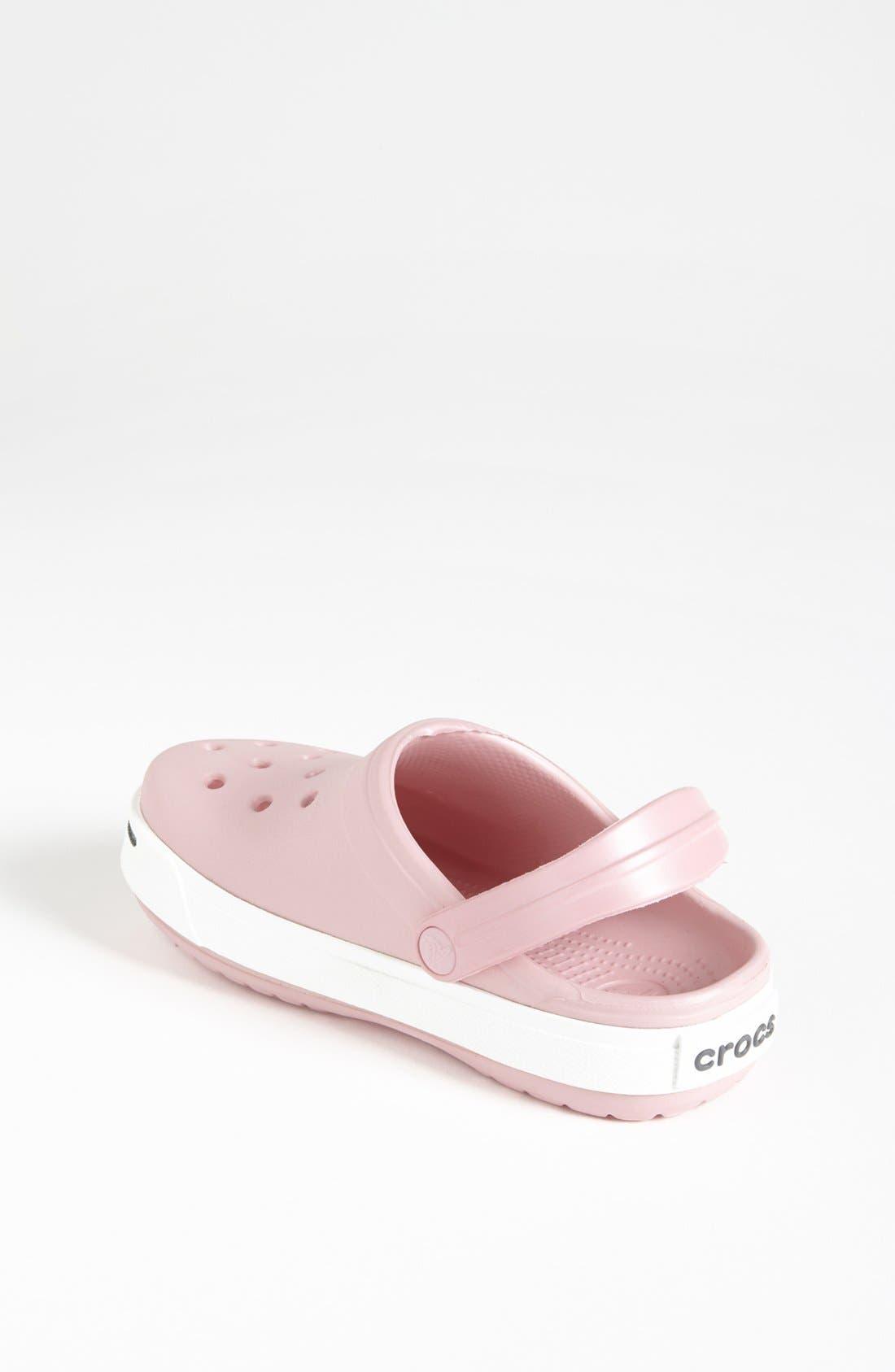 Alternate Image 2  - CROCS™ 'Crocband II' Clog (Walker, Toddler & Little Kid)