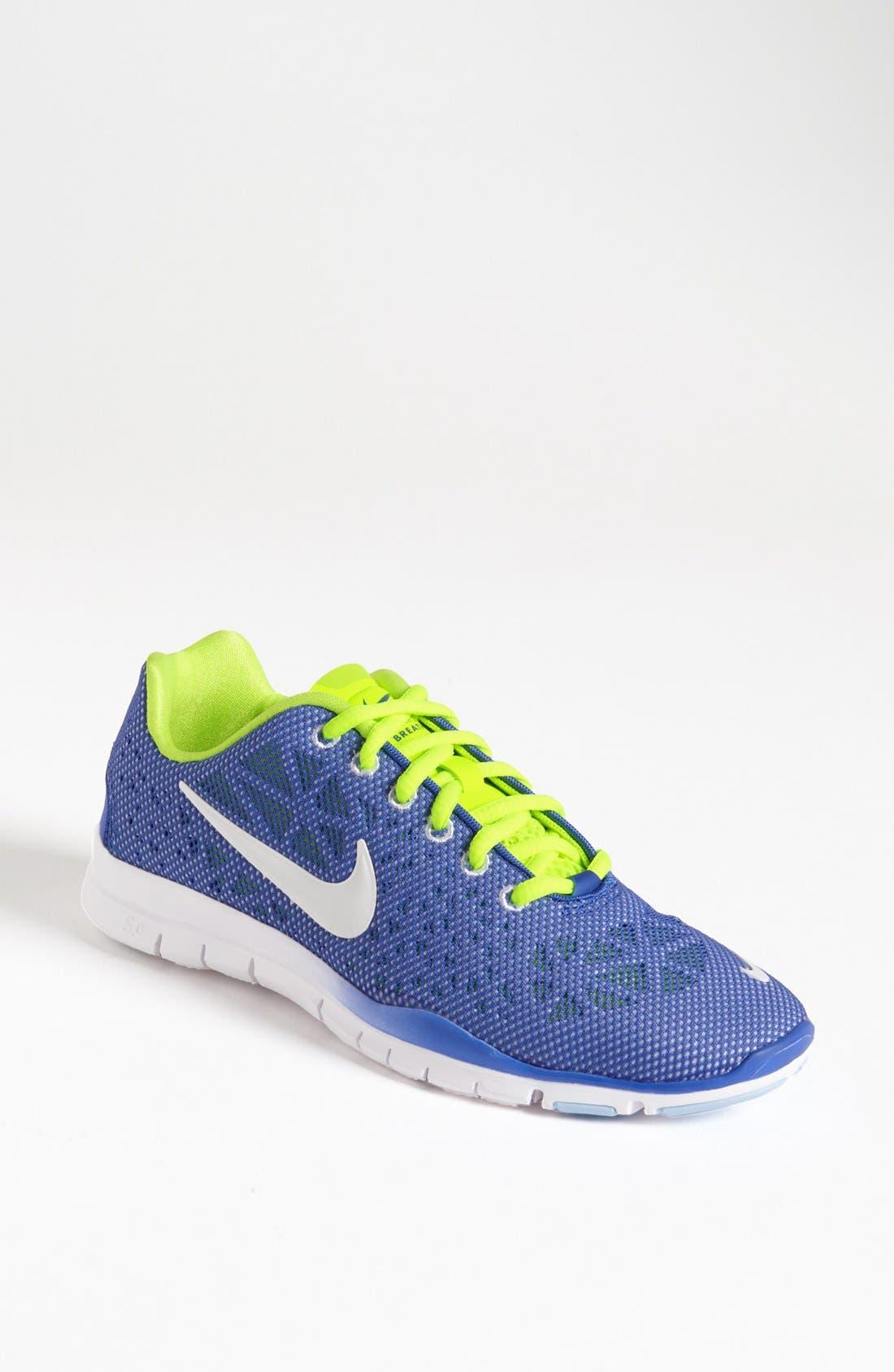 Alternate Image 1 Selected - Nike 'Free TR 3 - Breathe' Training Shoe (Women)