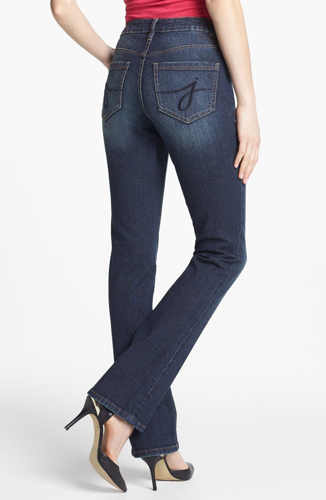 Alternate Image 2  - Jag Jeans 'Foster' Bootcut Jeans (Blue English) (Petite)