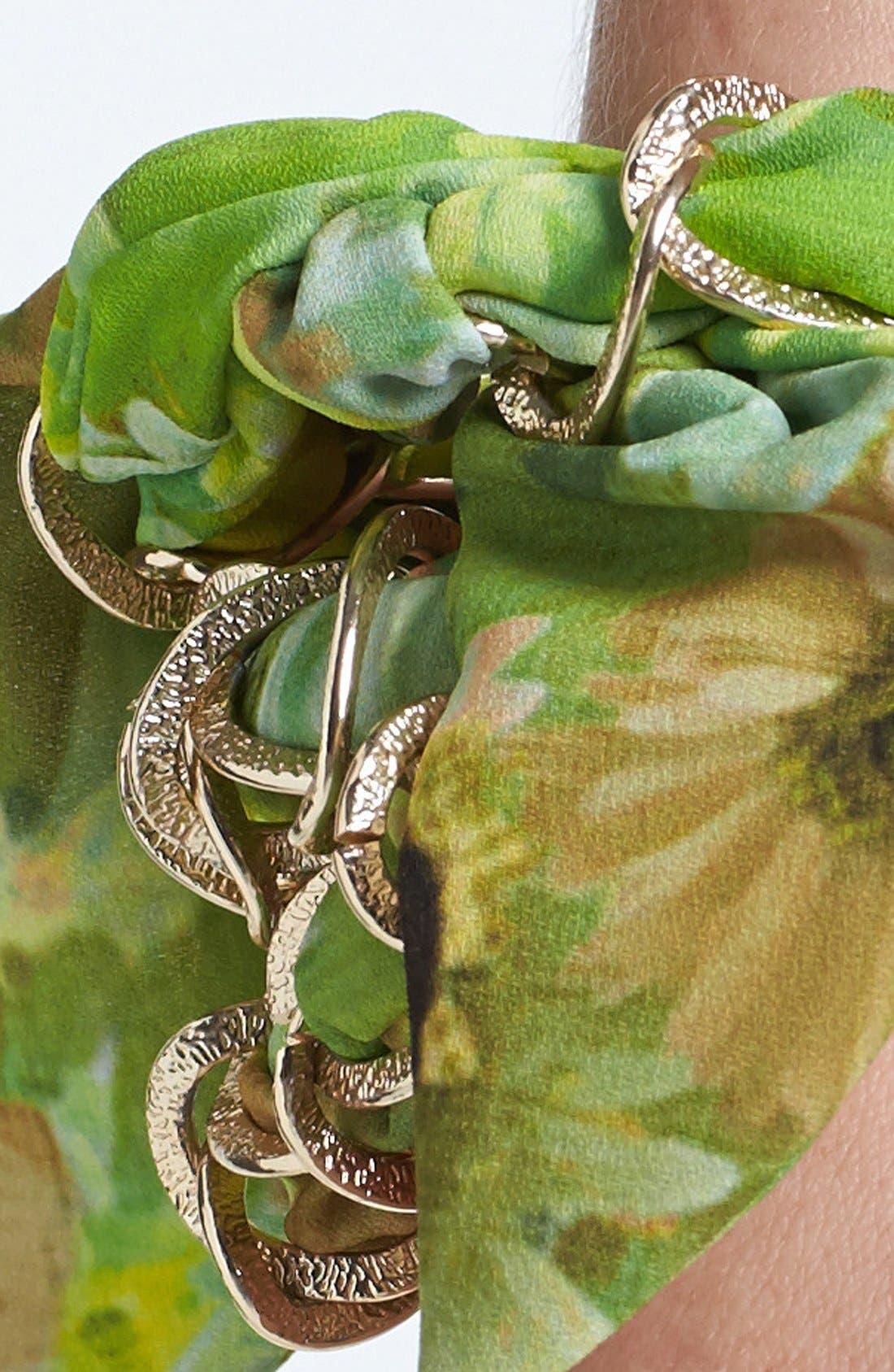 Alternate Image 2  - Tasha 'Daisies for Days' Chain Head Wrap