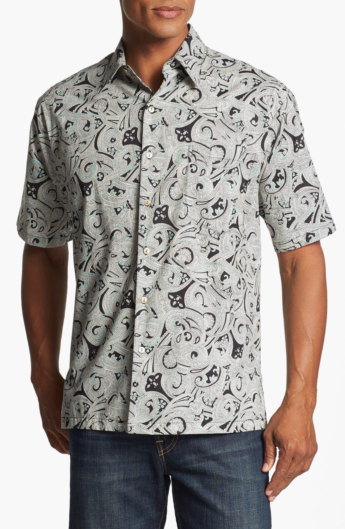 Alternate Image 1 Selected - Tori Richard 'Clockwork' Short Sleeve Sport Shirt