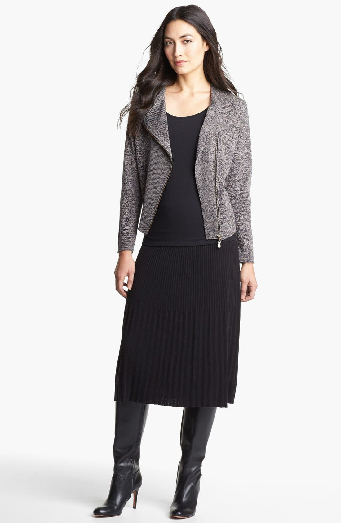 Alternate Image 1 Selected - Nic + Zoe Pleated Knit Skirt
