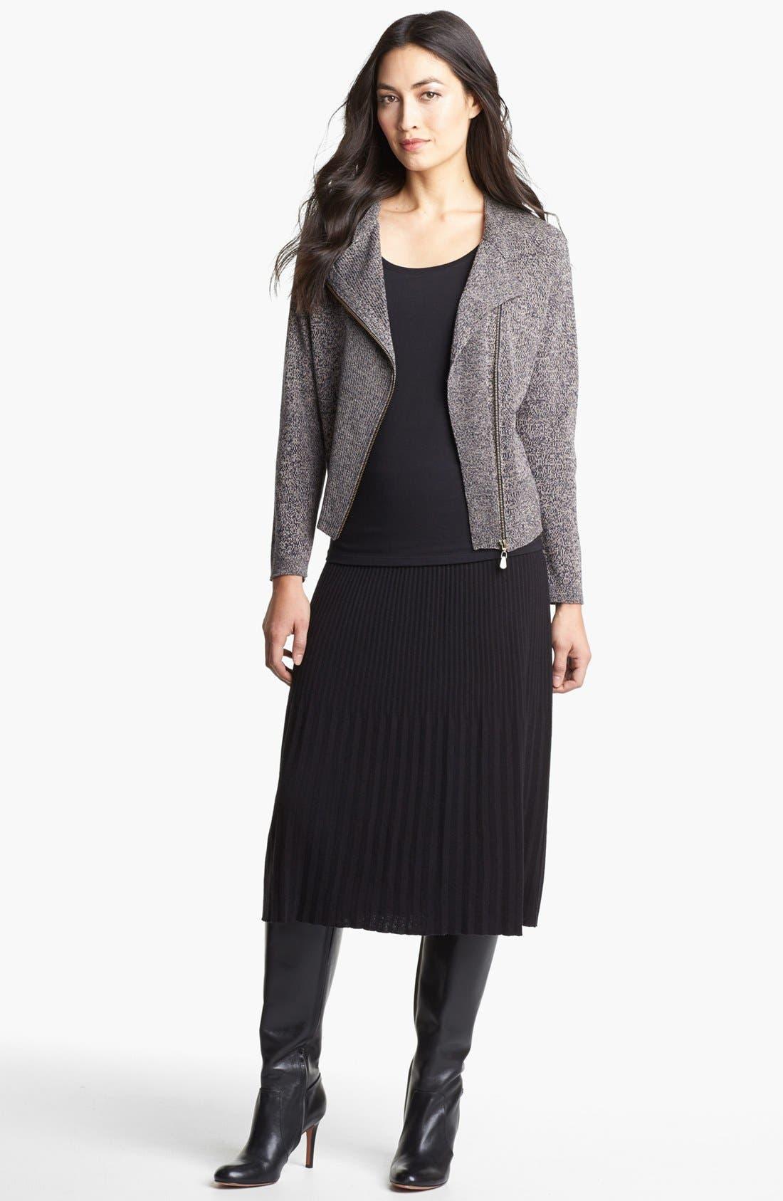Main Image - Nic + Zoe Pleated Knit Skirt