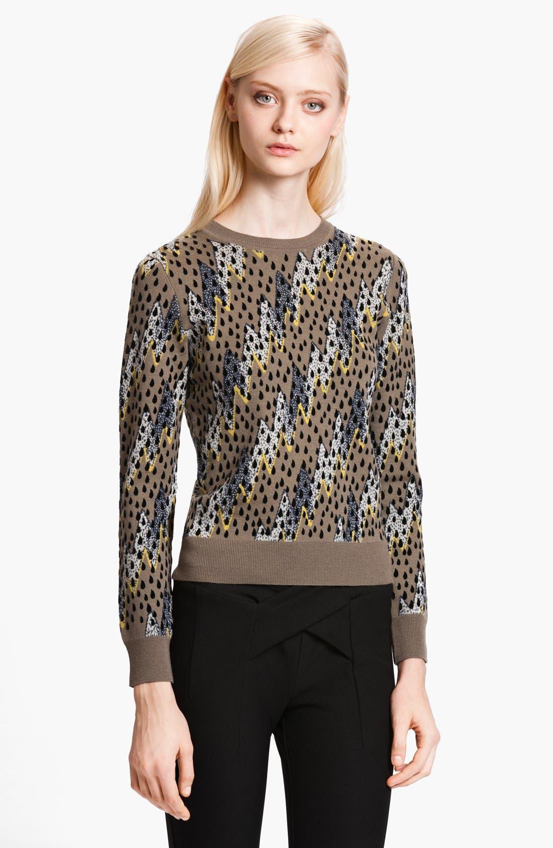 Main Image - KENZO 'Lightning Bolt' Jacquard Sweater