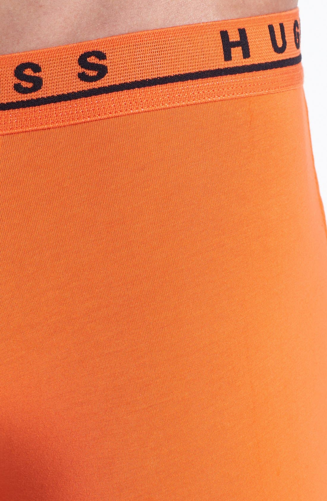 Alternate Image 3  - BOSS HUGO BOSS 'Cyclist 3P BM' Stretch Cotton Boxer Briefs (Assorted 3-Pack)