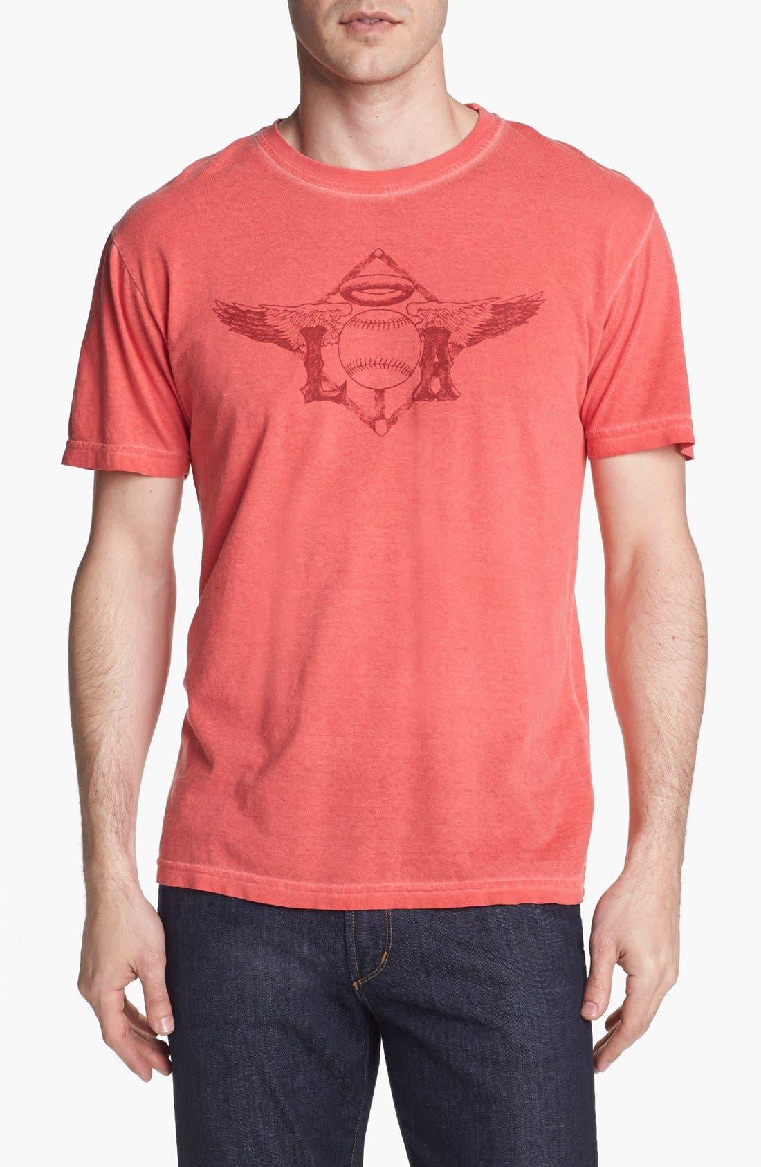 Alternate Image 1 Selected - Red Jacket 'Angels - NIB' T-Shirt