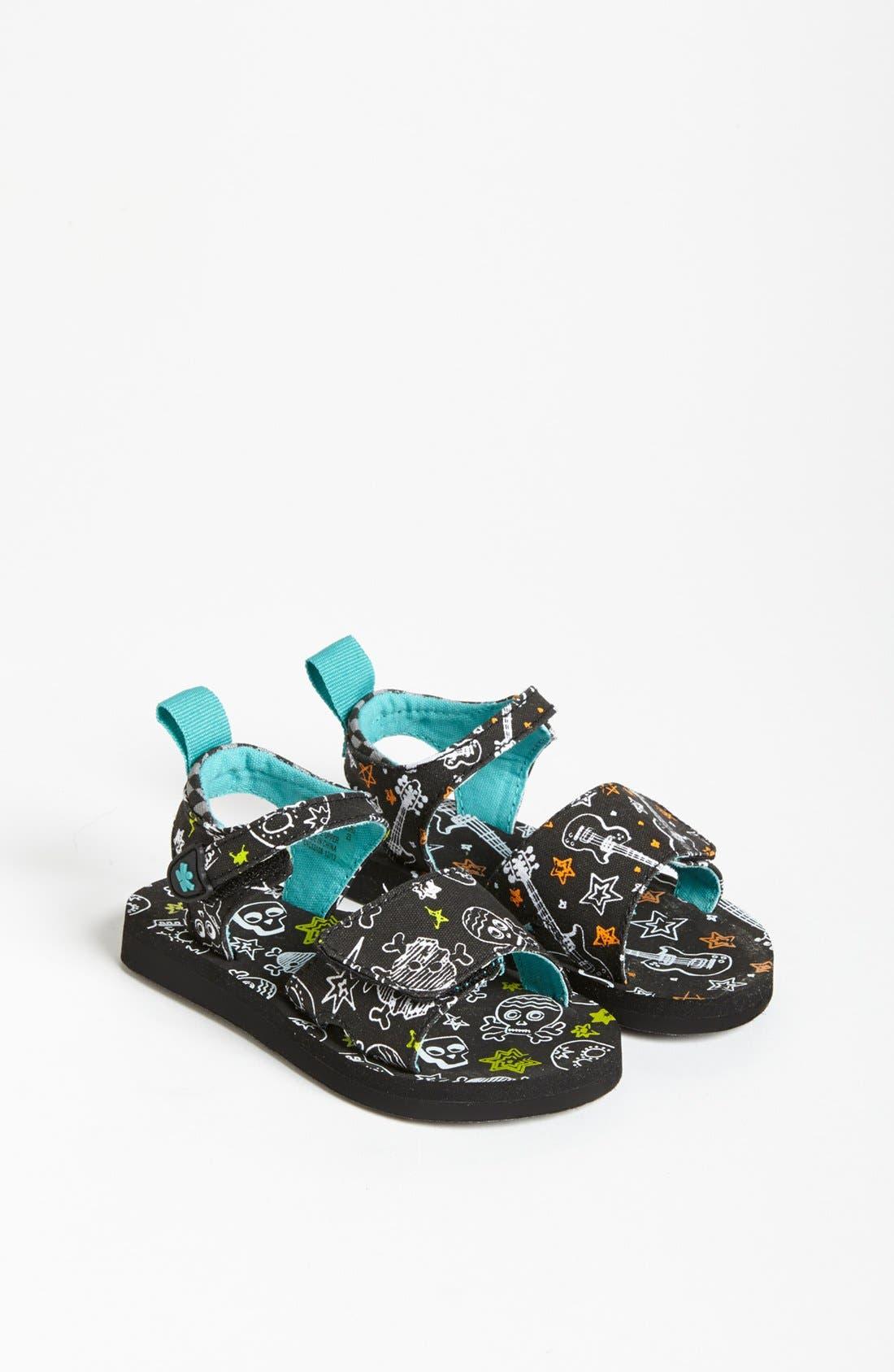 Alternate Image 1 Selected - CHOOZE 'Breeze - Rockout 2' Sandal (Baby, Walker & Toddler)
