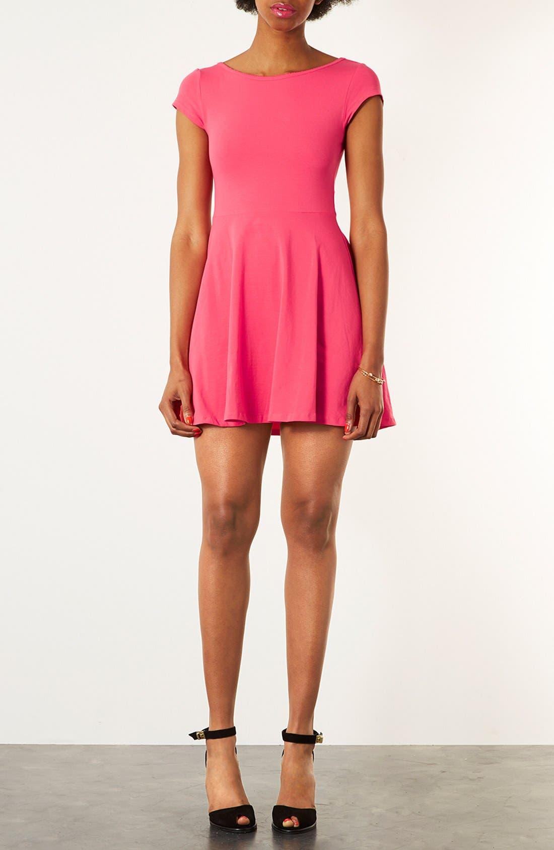 Alternate Image 1 Selected - Topshop Tunic Dress