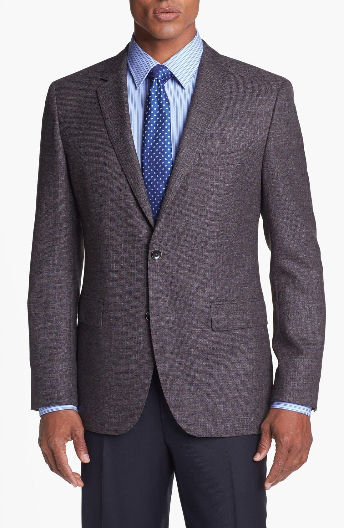 Main Image - BOSS HUGO BOSS 'The Keys' Trim Fit Wool Sportcoat