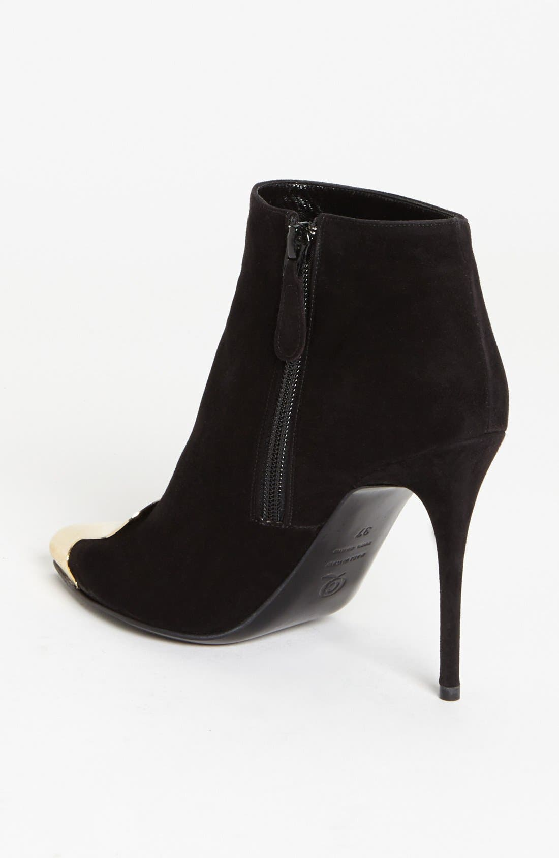 Alternate Image 2  - Alexander McQueen Metal Toe Bootie