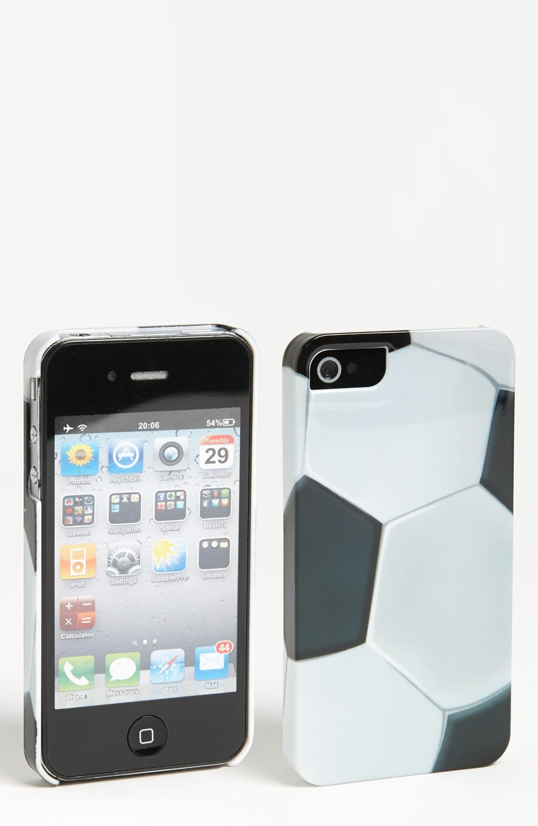 Alternate Image 1 Selected - ICover 'Soccer' iPhone 4 & 4S Case