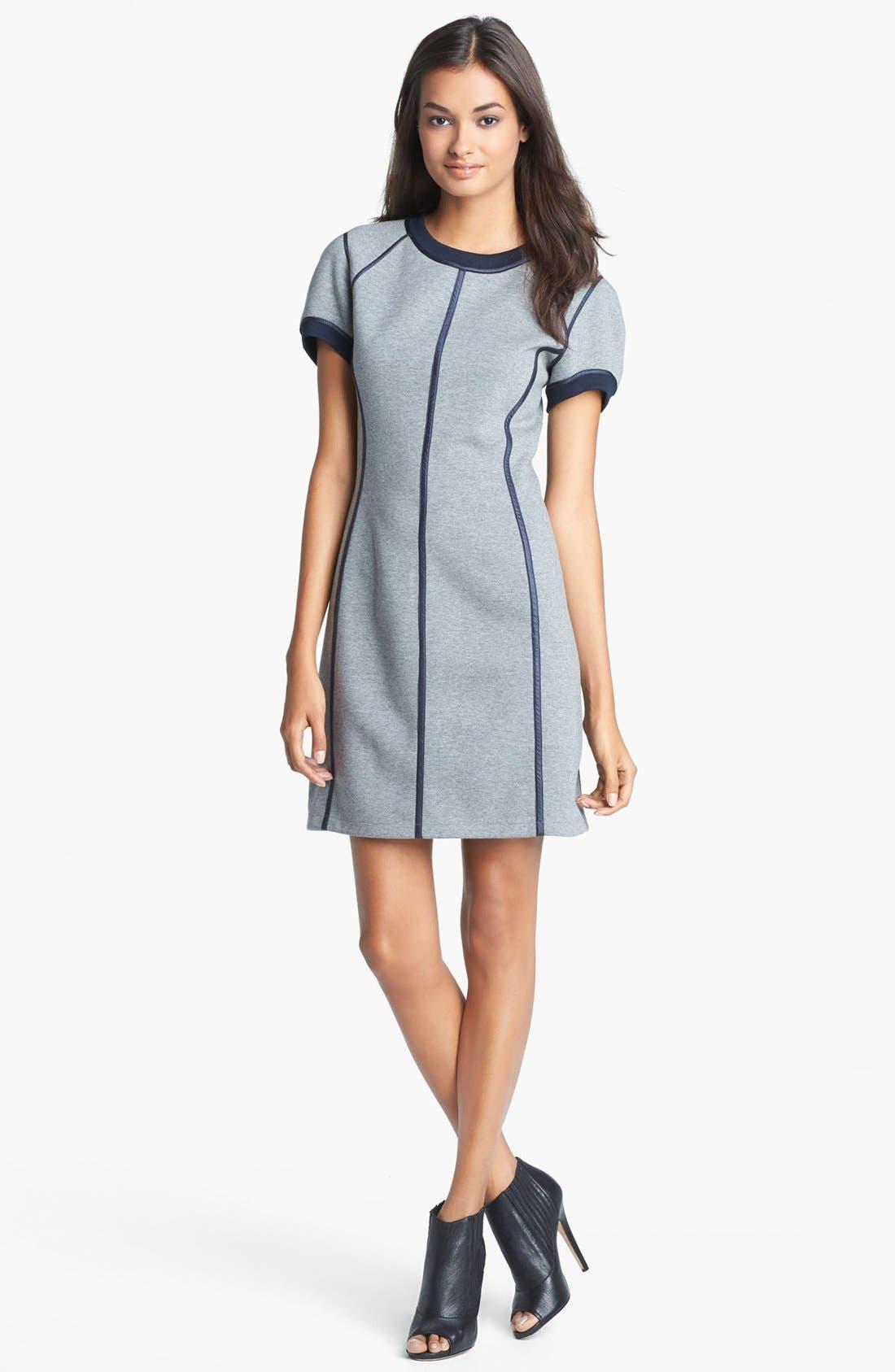 Alternate Image 1 Selected - Theory 'Nevassa' Cotton Blend Dress