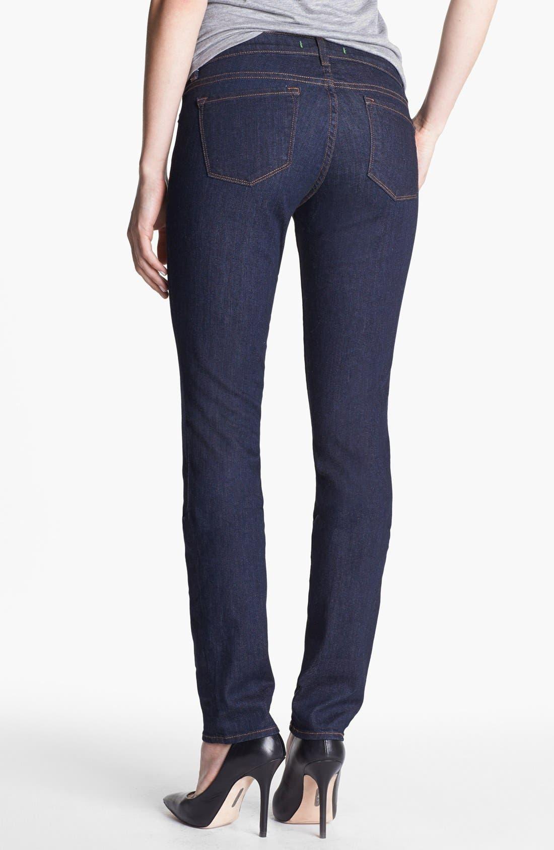 Alternate Image 2  - J Brand Skinny Stretch Jeans (Pure Wash)