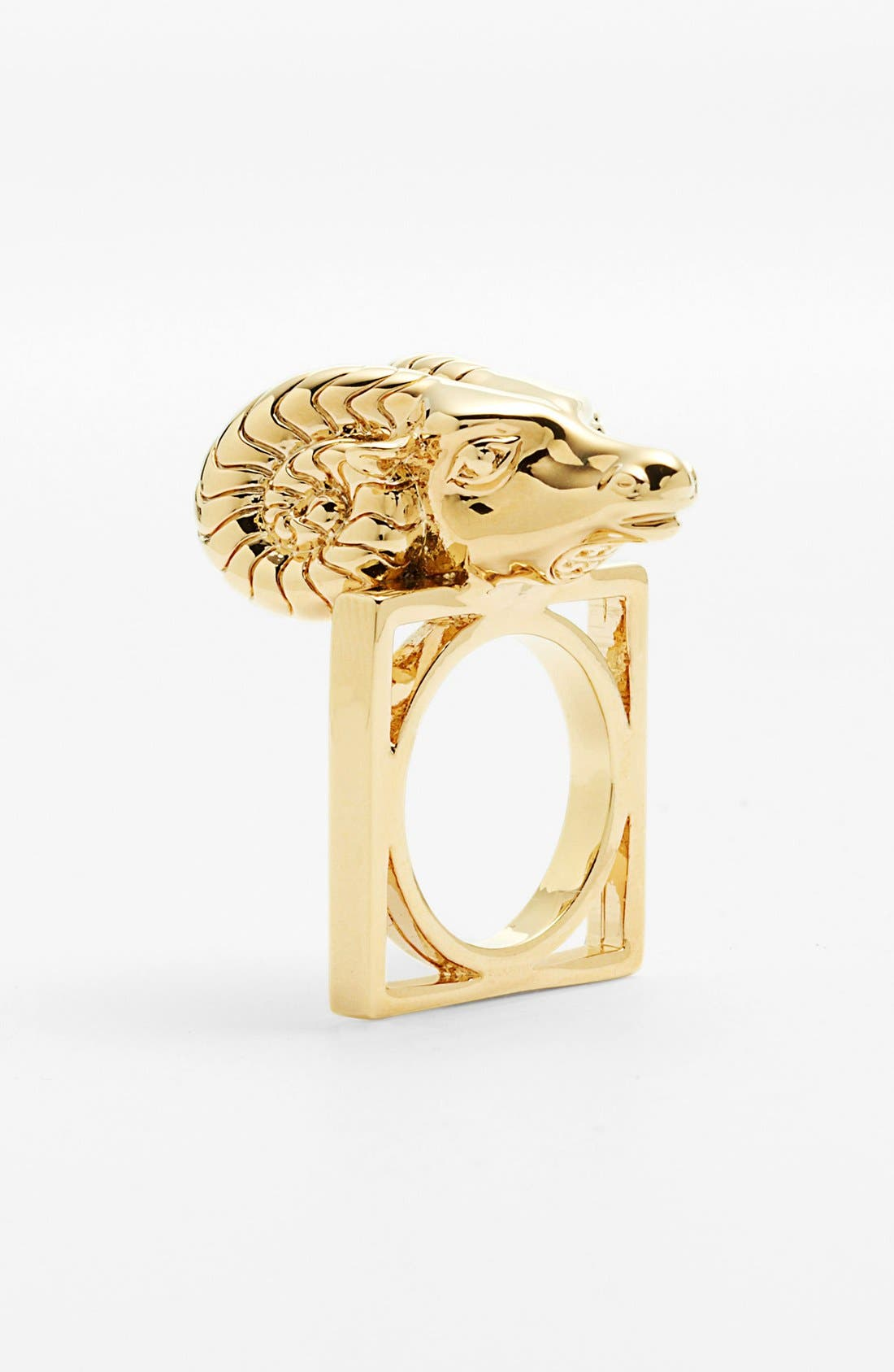 Alternate Image 2  - Tory Burch Ram Head Ring