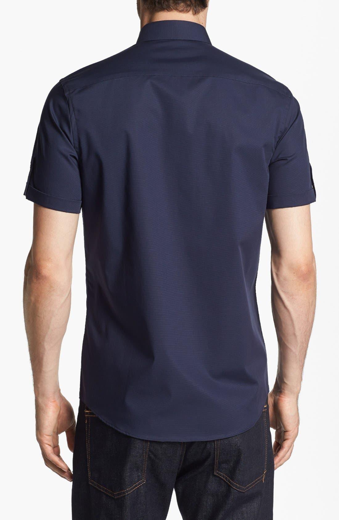 Alternate Image 2  - Calibrate Trim Fit Short Sleeve Sport Shirt