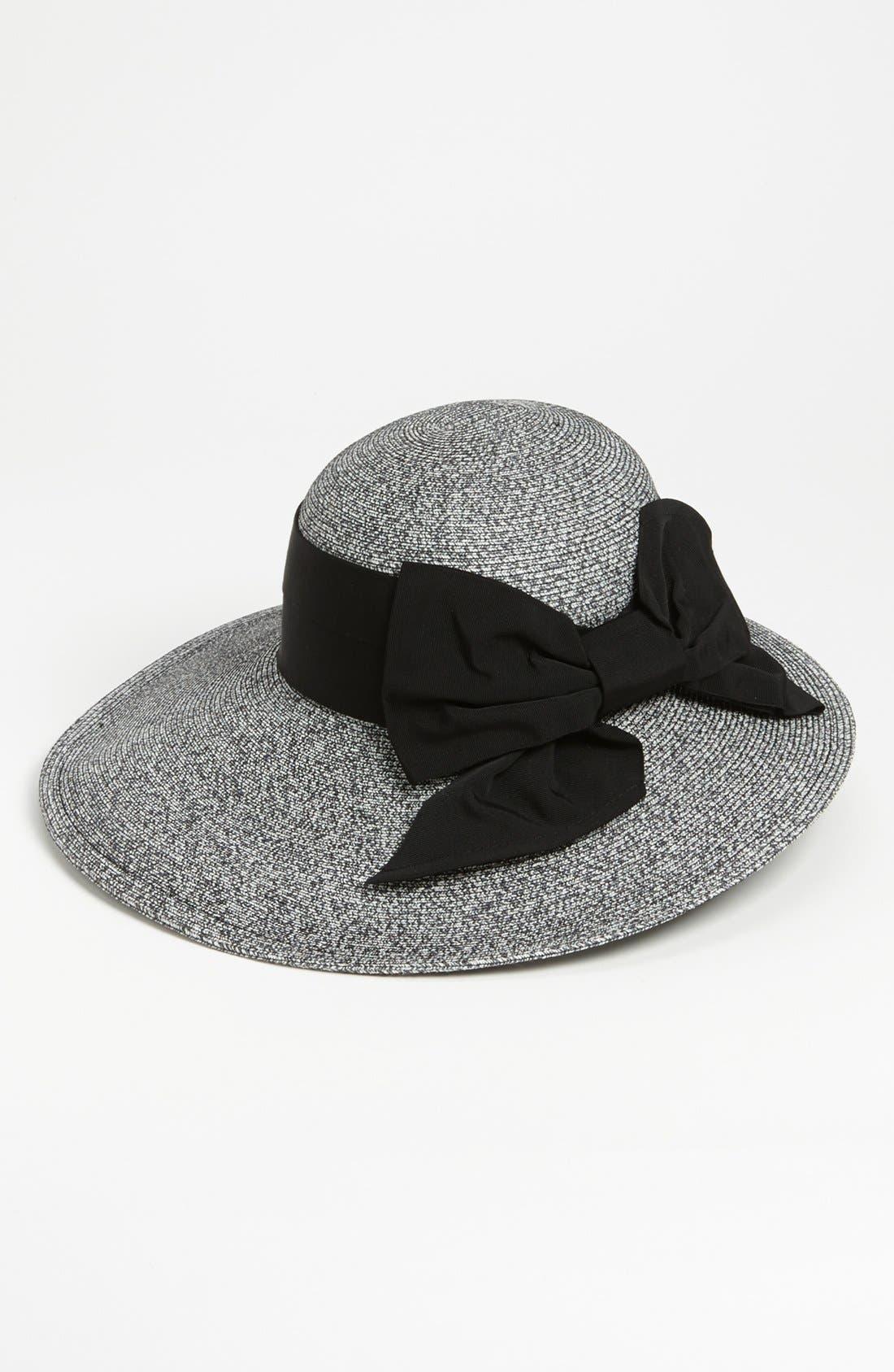 Alternate Image 1 Selected - Nordstrom Asymmetrical Straw Hat