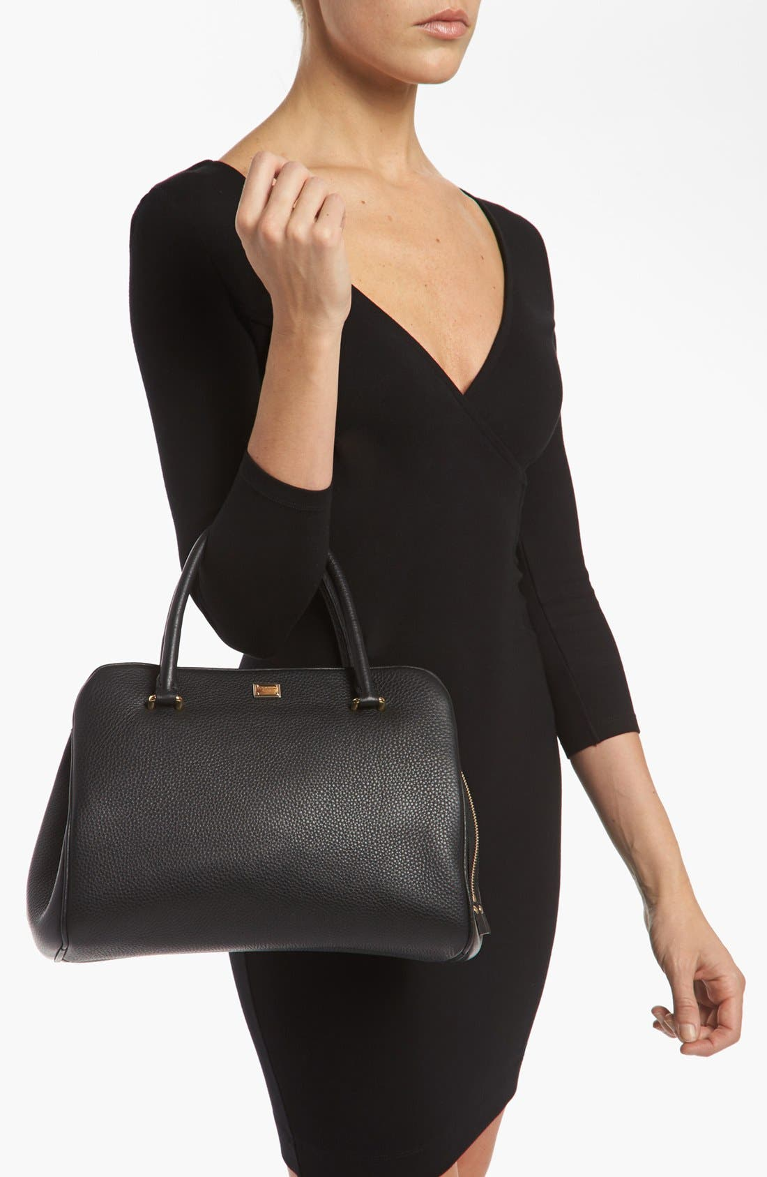 Alternate Image 2  - Dolce&Gabbana 'Miss Lily' Leather Handbag