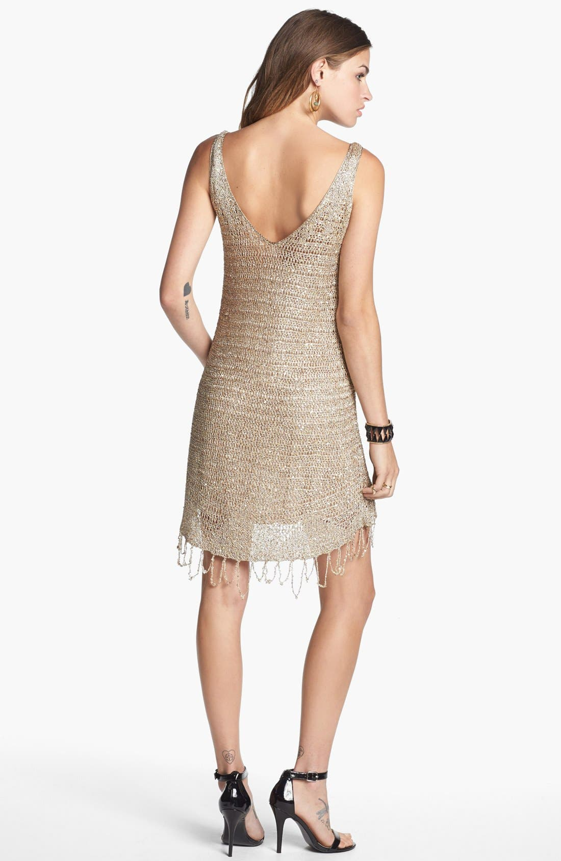 Alternate Image 2  - Free People 'Golden Sand' Embellished Dress