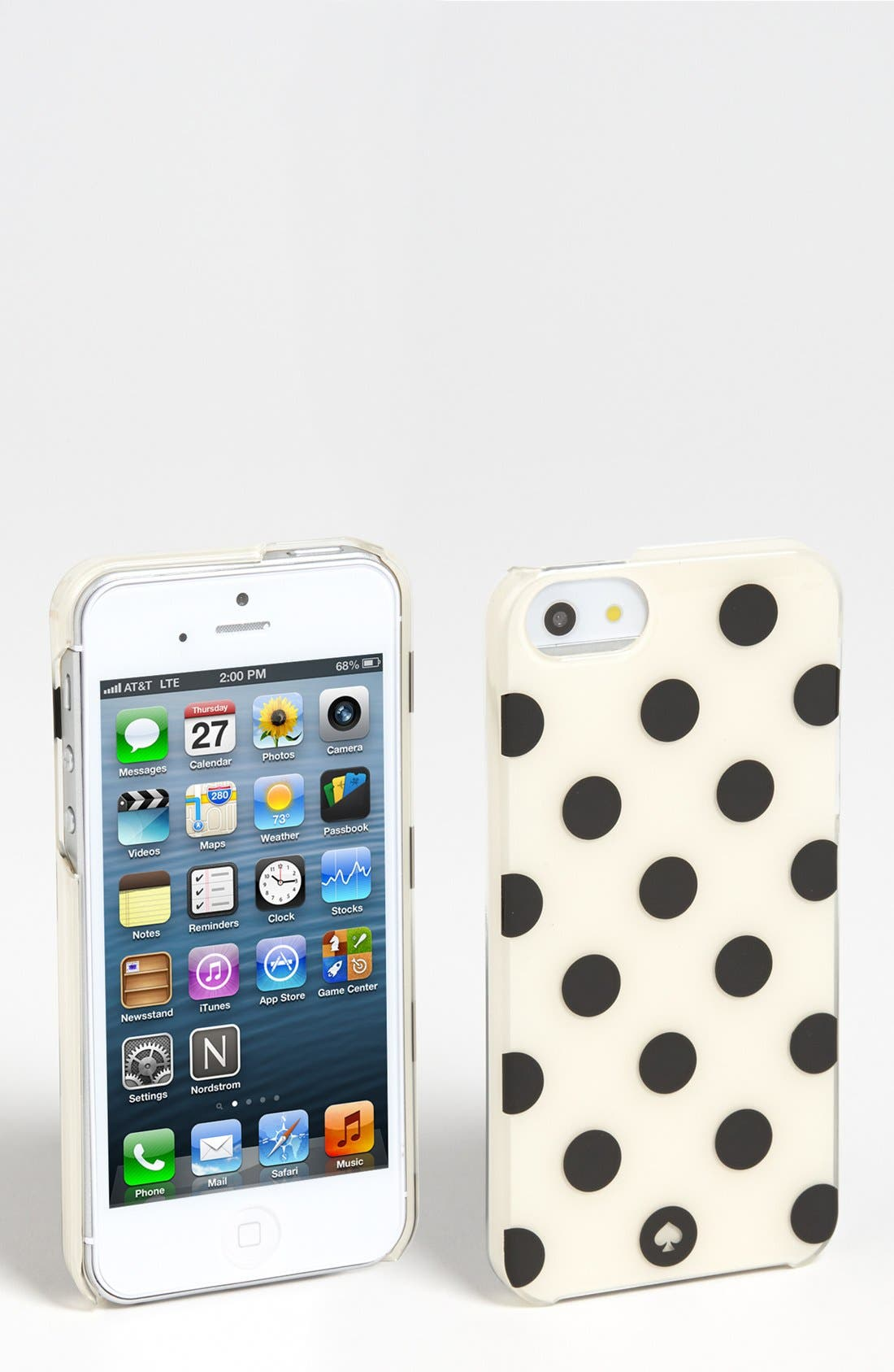 Alternate Image 1 Selected - kate spade new york 'la pavillion - jewels' iPhone 5 & 5s case