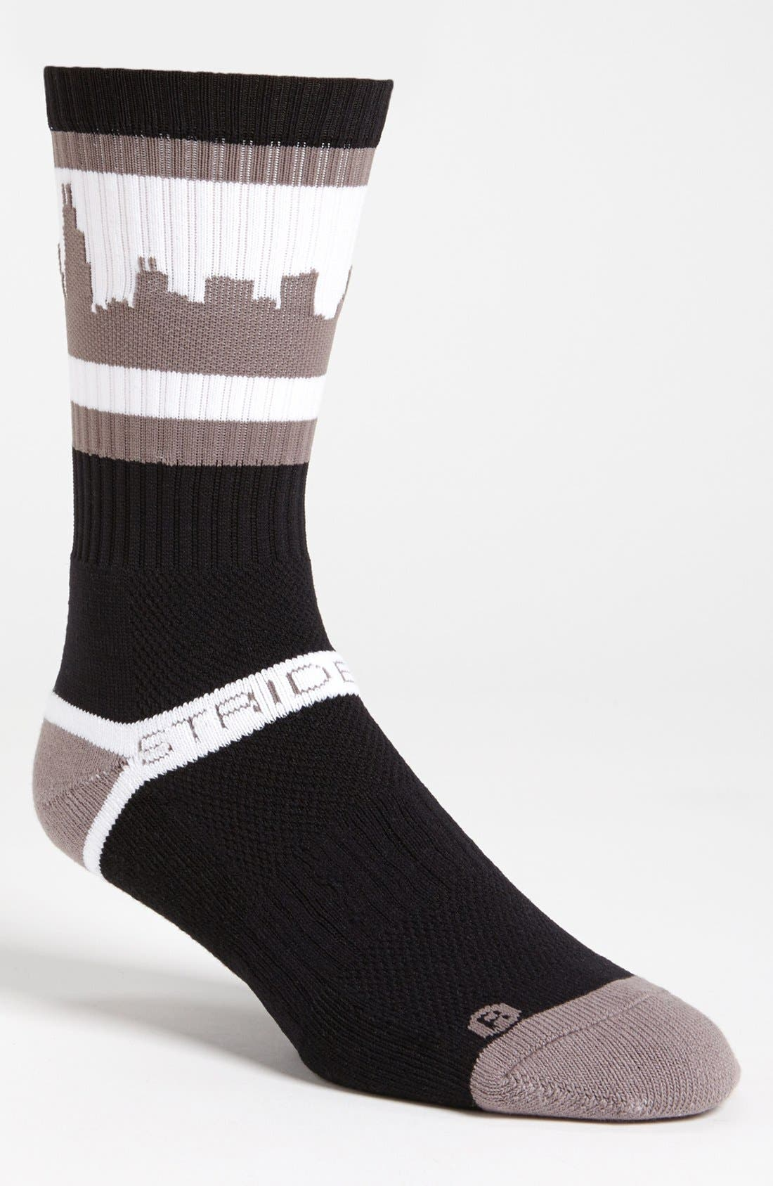 Alternate Image 1 Selected - STRIDELINE 'Chicago' Socks
