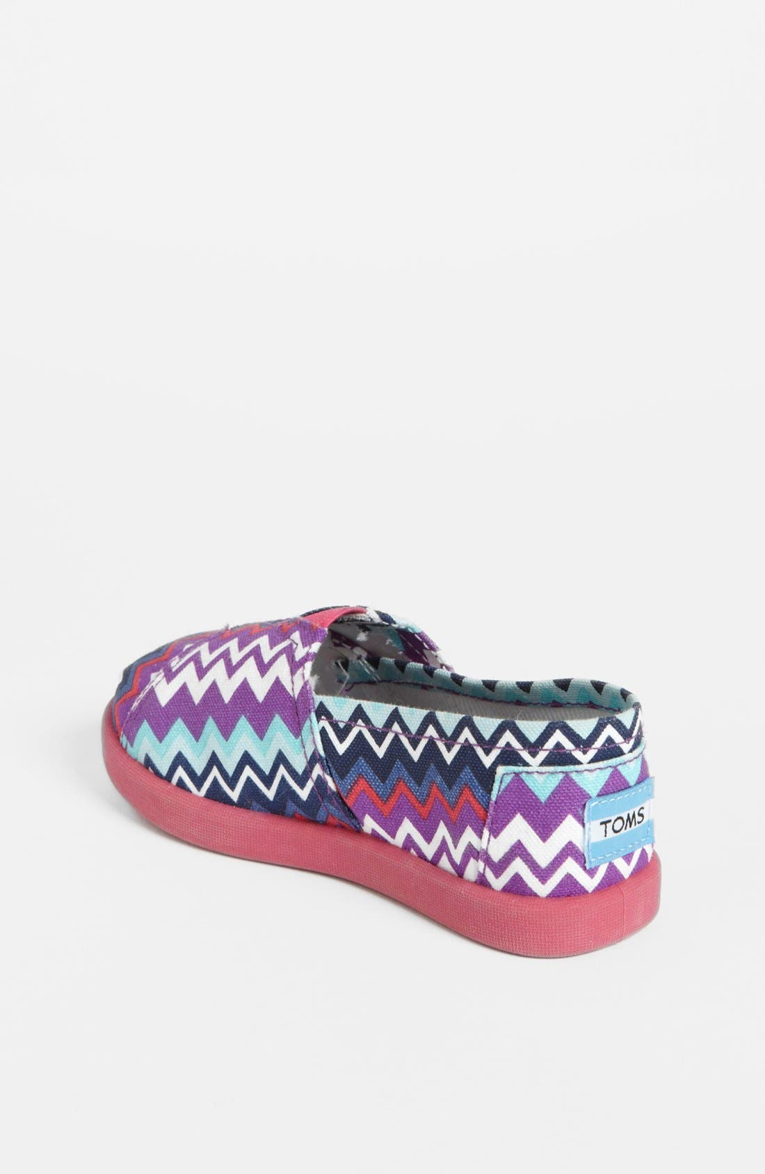 Alternate Image 2  - TOMS 'Classic Tiny - Zig Zag Pop' (Baby, Walker & Toddler)