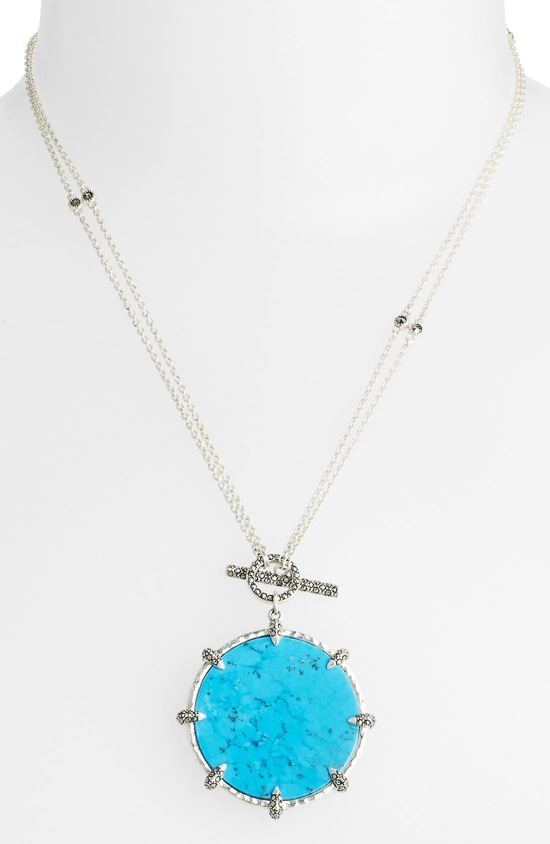 Alternate Image 3  - Judith Jack 'Coin' Convertible Reversible Pendant Necklace