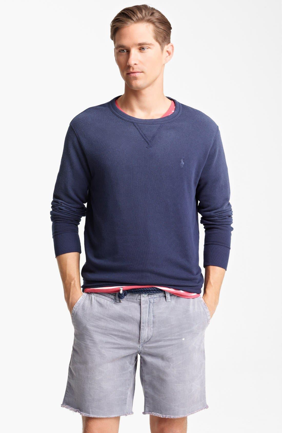Alternate Image 1 Selected - Polo Ralph Lauren Sweat Shirt