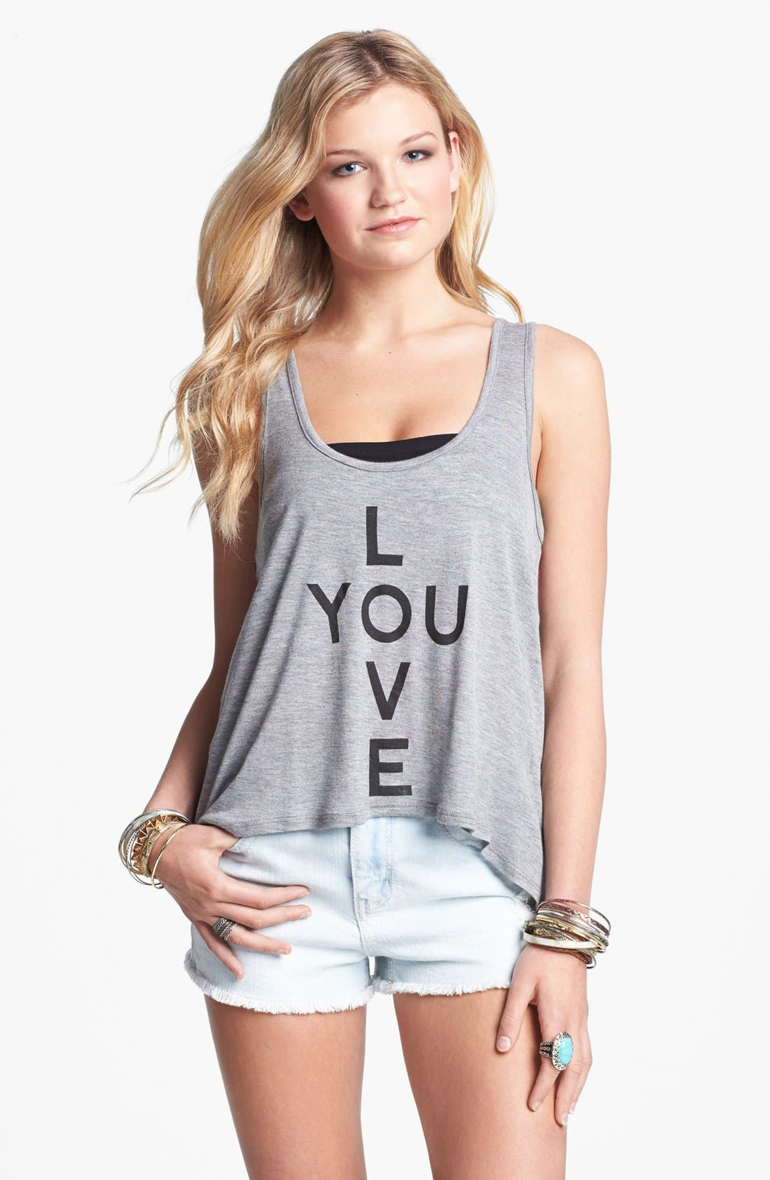 Main Image - Workshop 'Love You' Tank (Juniors) (Online Only)