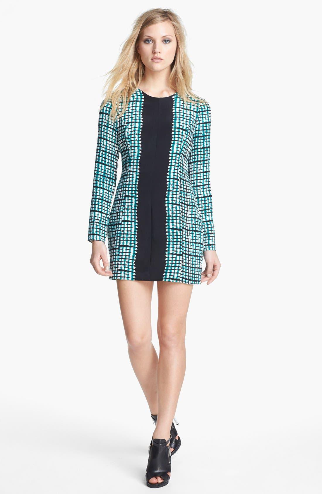 Alternate Image 1 Selected - Parker 'Lydia' Silk Minidress