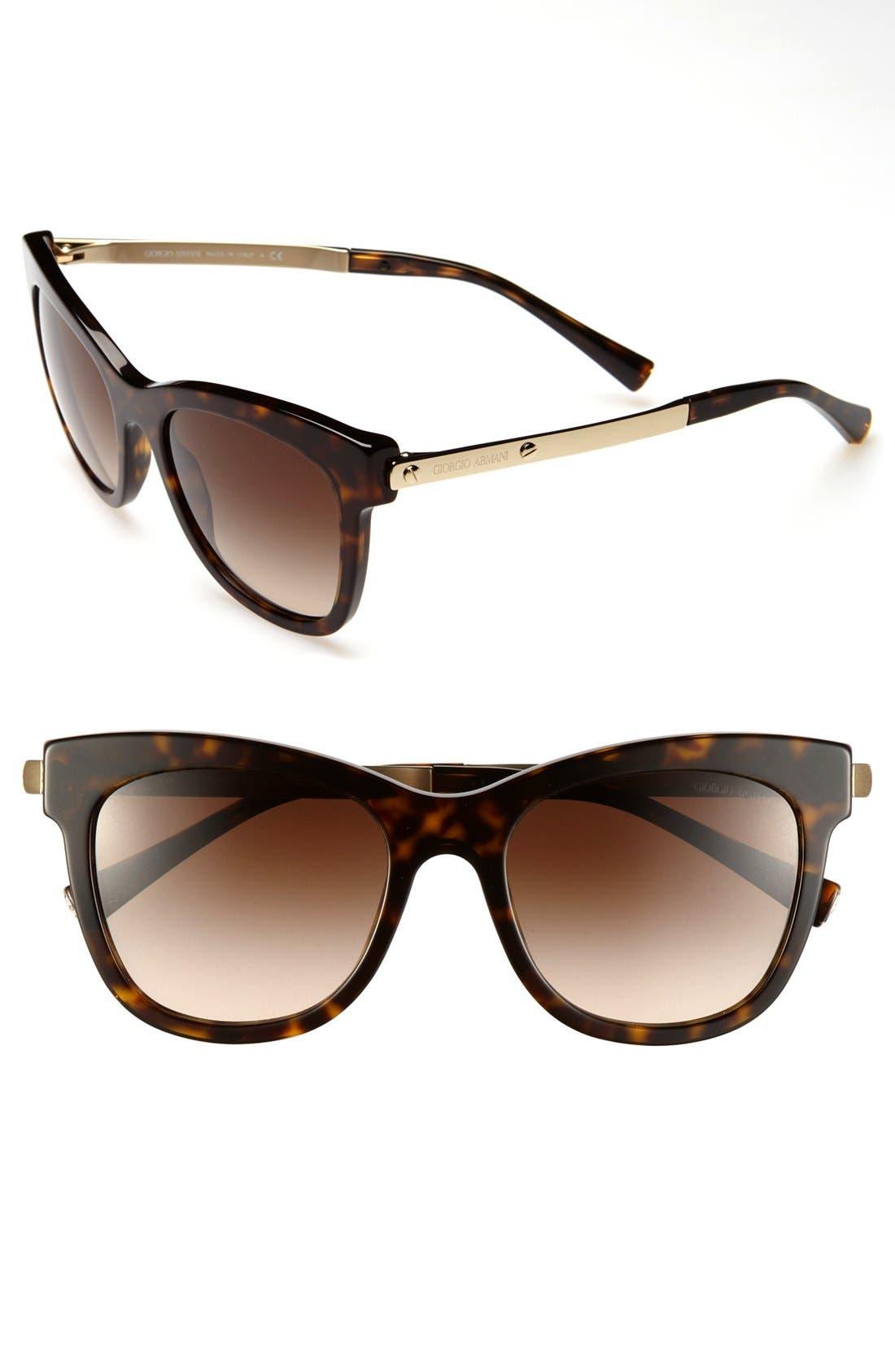 Alternate Image 1 Selected - Giorgio Armani 54mm Sunglasses