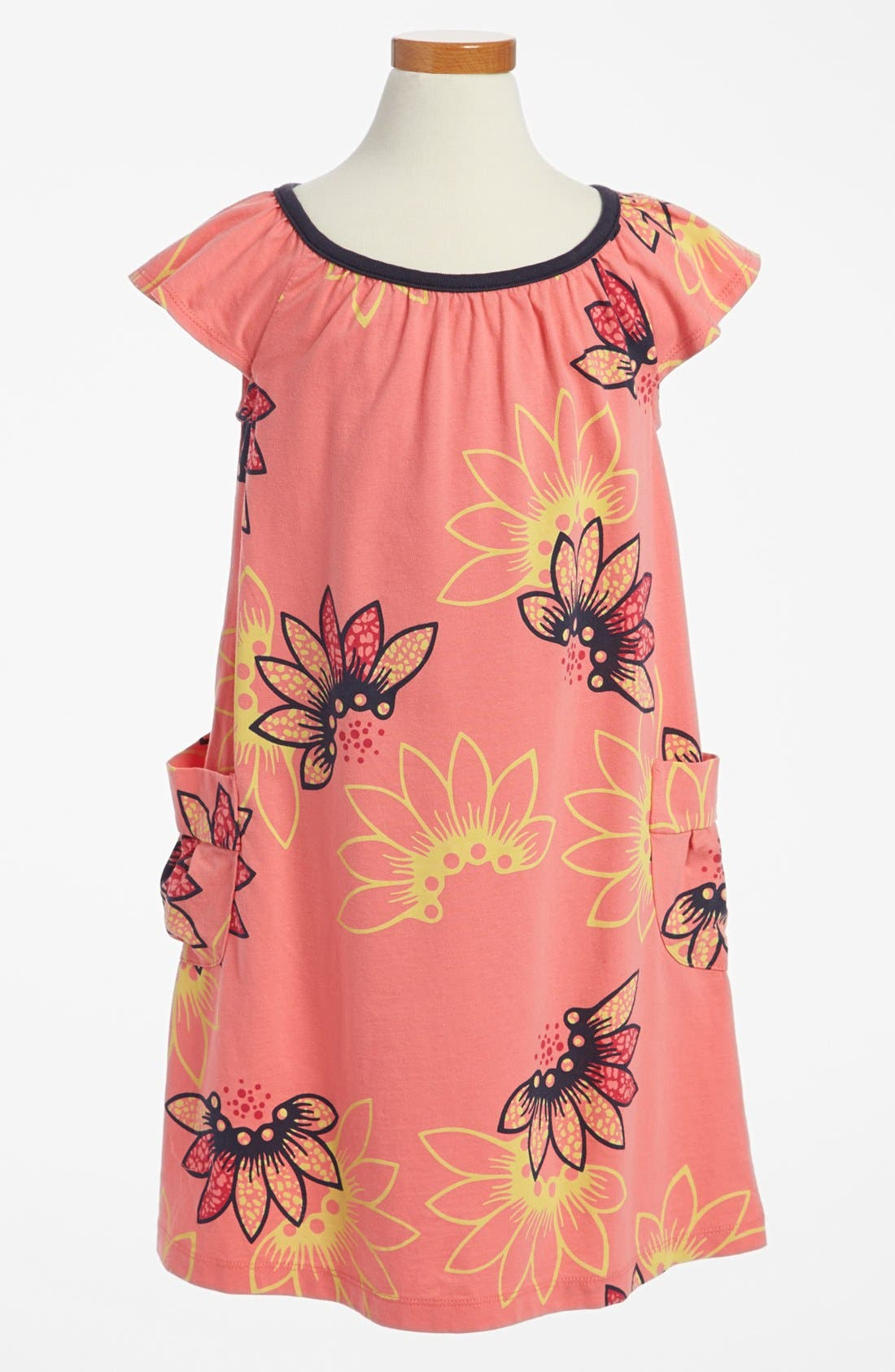Main Image - Tea Collection 'Tidepool Treasure' Dress (Little Girls & Big Girls)