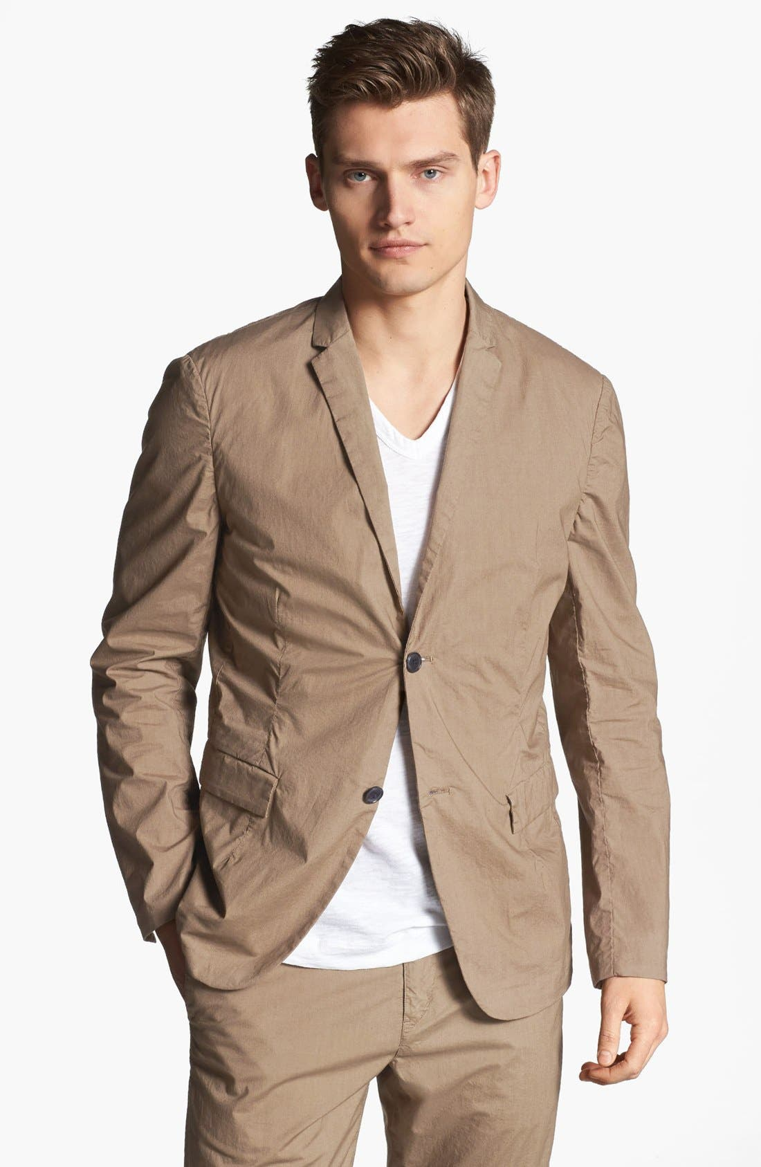 Alternate Image 1 Selected - Theory Cotton Blend Sportcoat