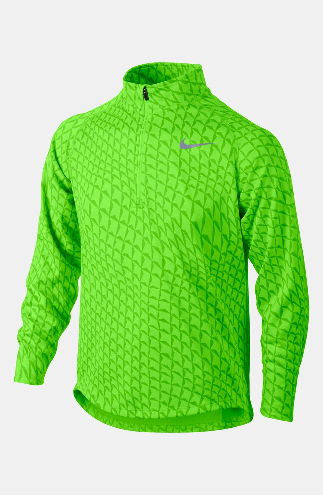 Alternate Image 1 Selected - Nike 'Element' Dri-FIT Half Zip Running Top (Big Boys)