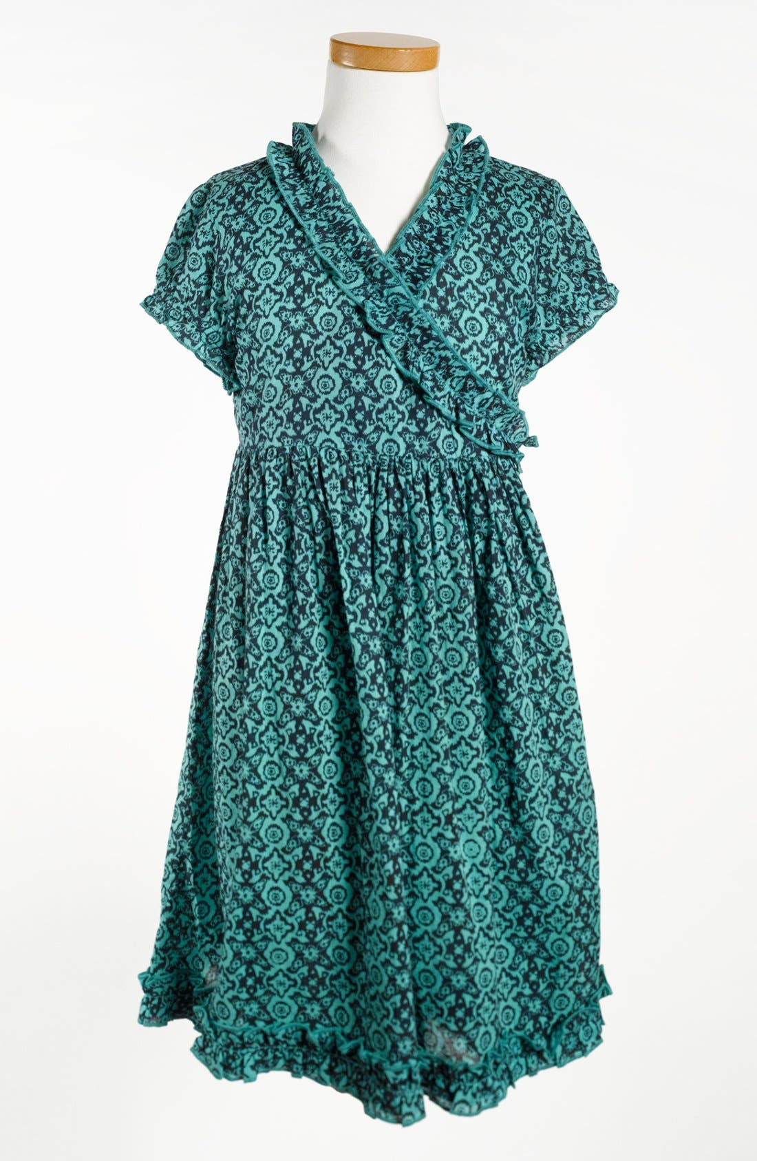 Main Image - Peek 'Cristina' Wrap Dress (Toddler Girls, Little Girls & Big Girls)