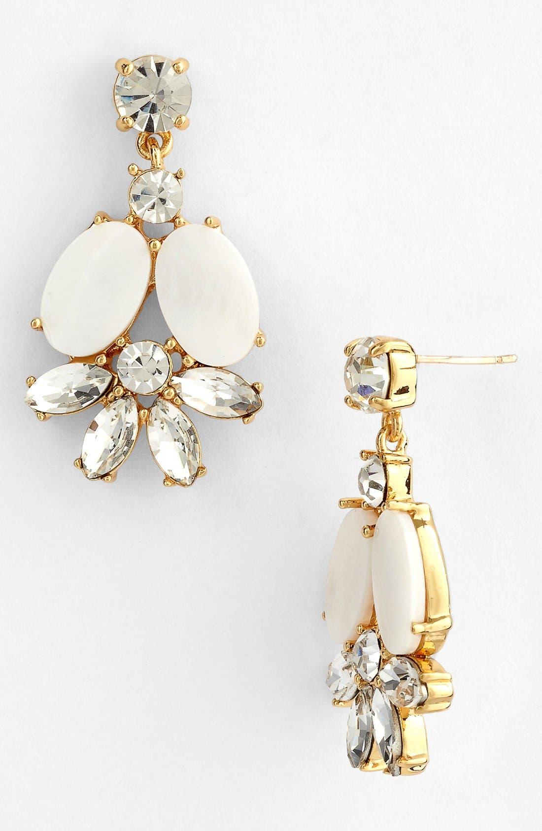 Main Image - kate spade new york 'bungalow bouquet' cluster drop earrings