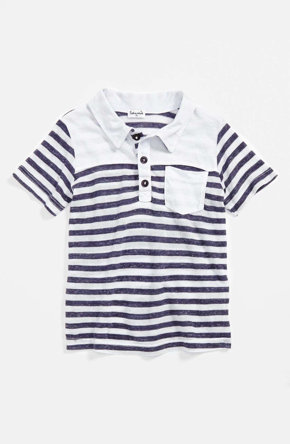 Alternate Image 1 Selected - Splendid Stripe Polo (Toddler Boys)
