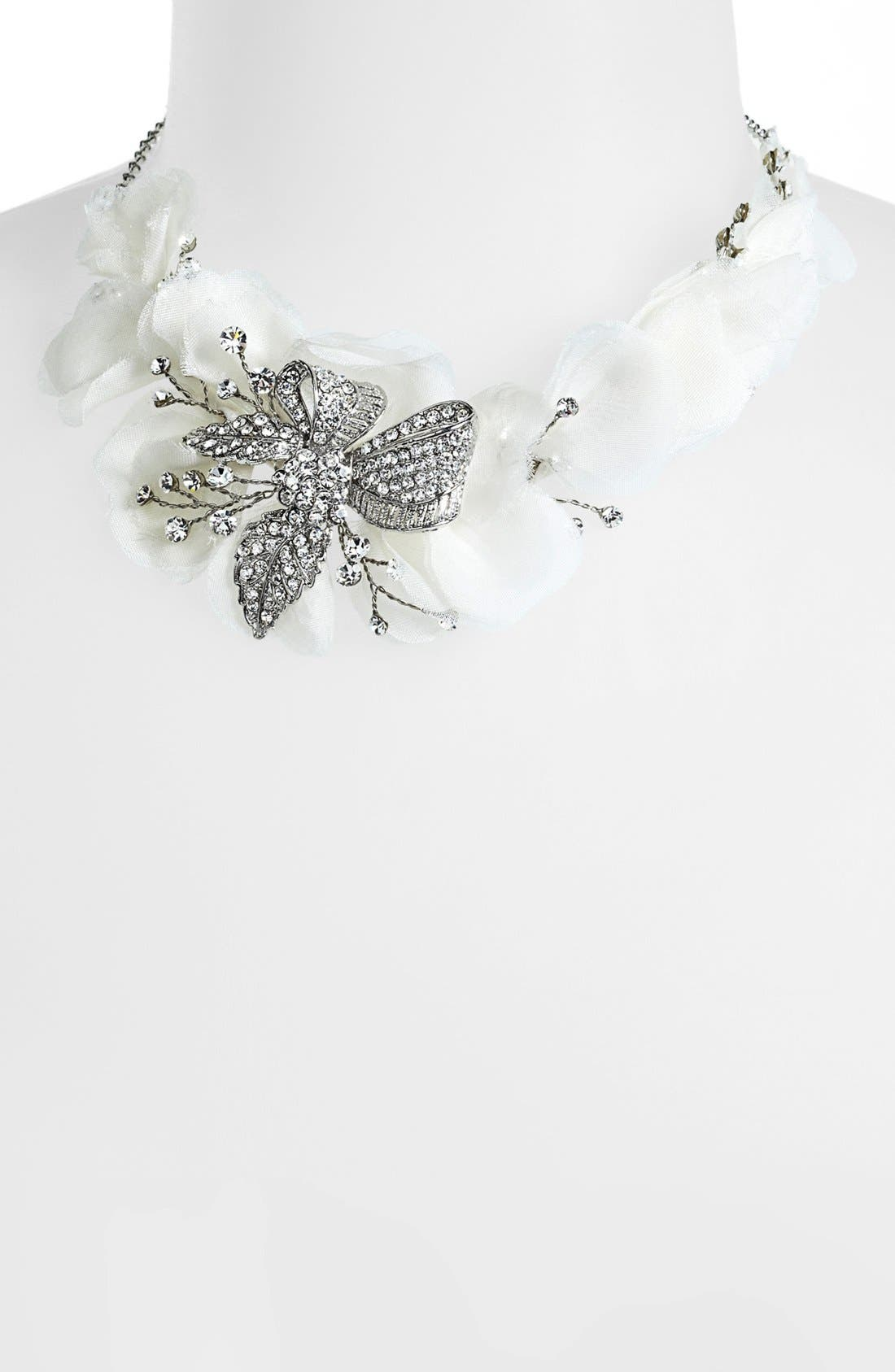Alternate Image 2  - Nina 'Omara' Flower Bib Necklace