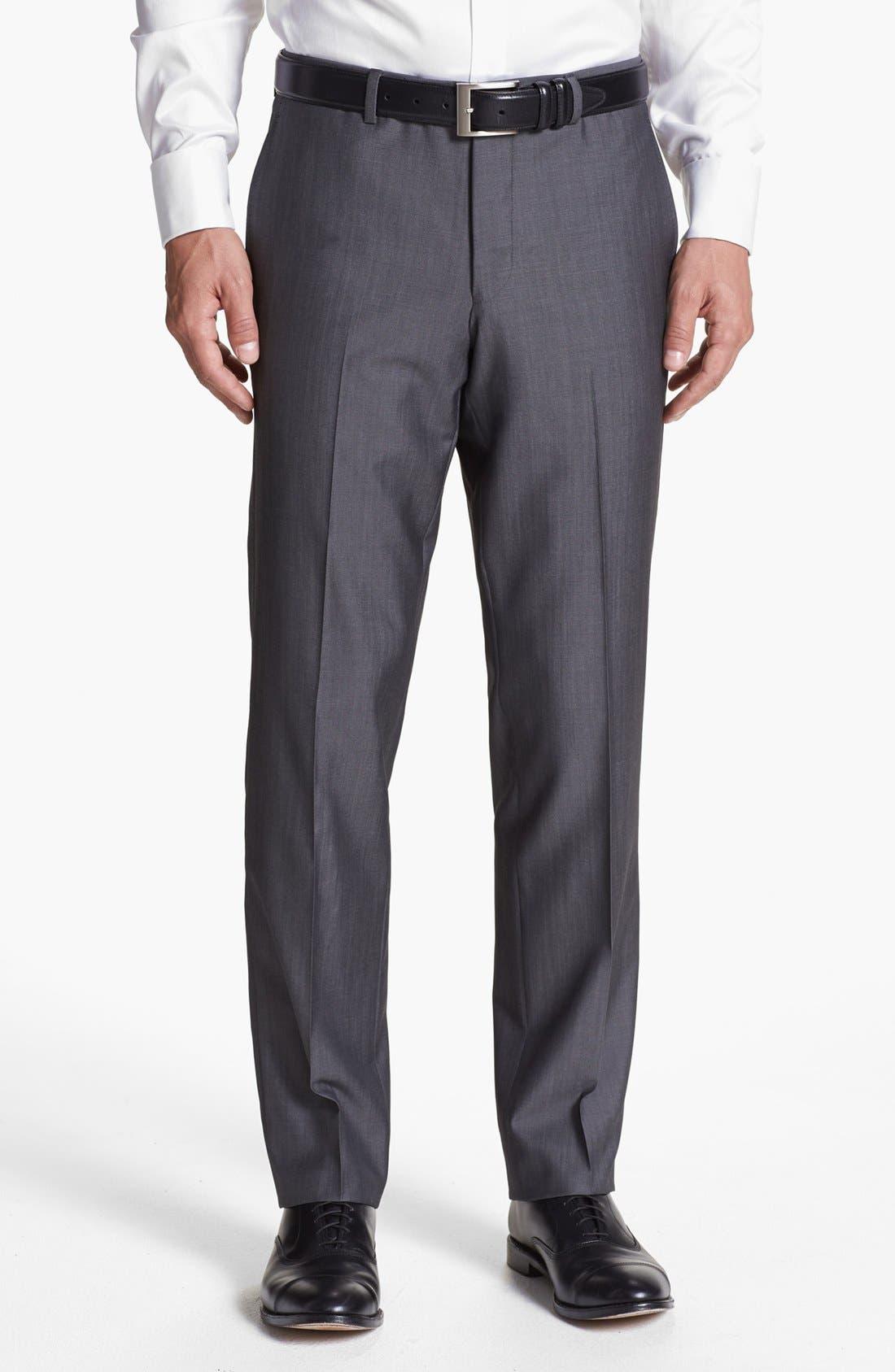 Alternate Image 5  - Ted Baker London 'Jim' Grey Wool Suit