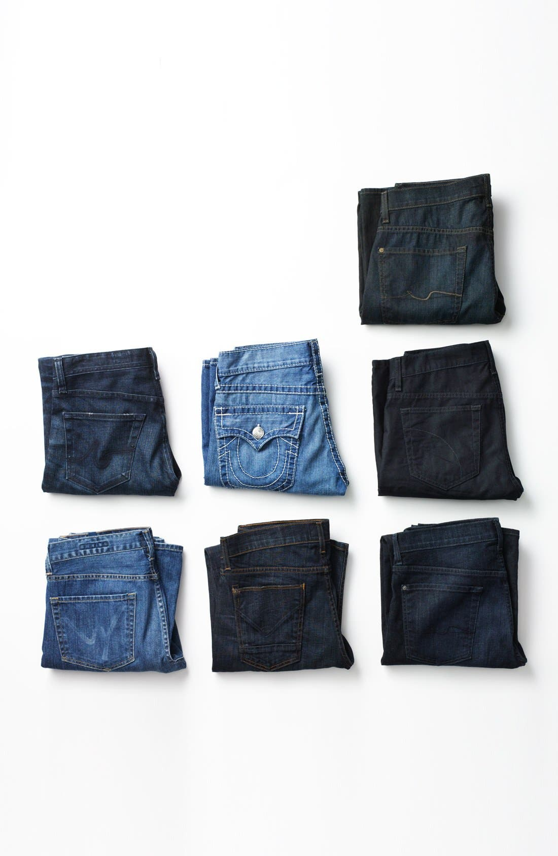 Alternate Image 6  - 7 For All Mankind® 'Austyn' Relaxed Fit Jeans (Amber Night)