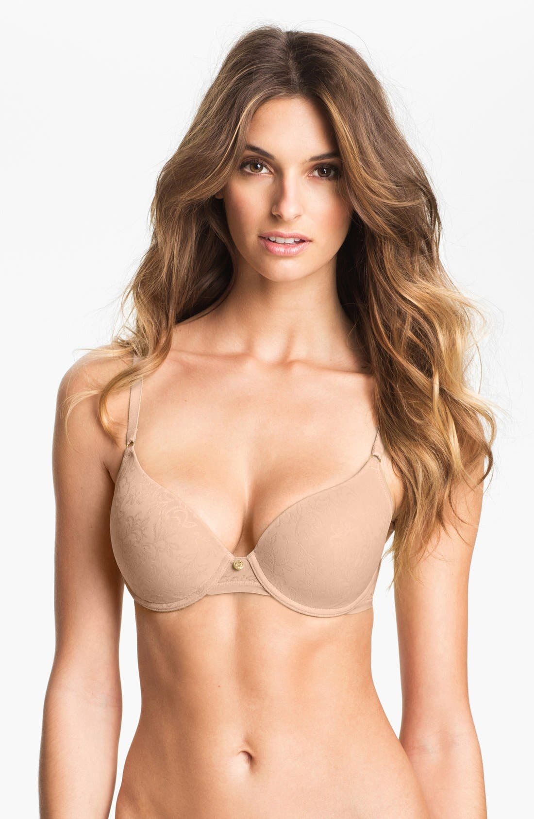 Alternate Image 1 Selected - Natori Jacquard Underwire Bra