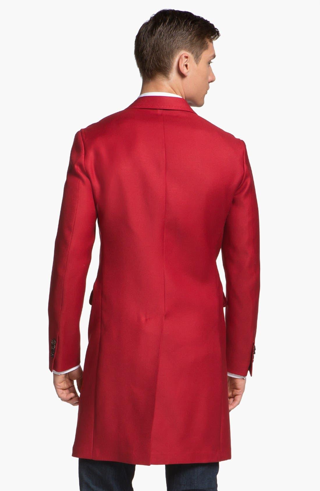 Alternate Image 2  - Dsquared2 Three Button Overcoat