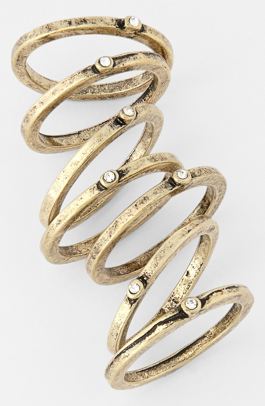 Alternate Image 1 Selected - Statements by DCK Stackable Rings (Set of 7)